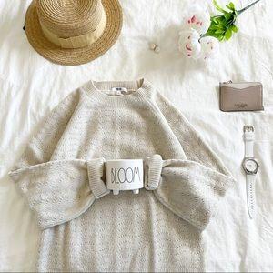 Uniqlo souffle yarn sweater
